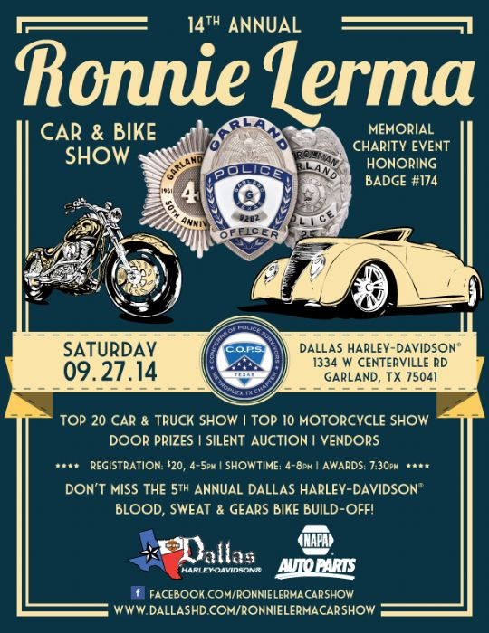 14TH Annual RONNIE LERMA CAR AND MOTORCYCLE SHOW - The AMC Forum