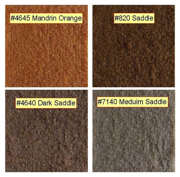 Still Wonder Myself What The Color Of Original Saddle Carpet Looked Like
