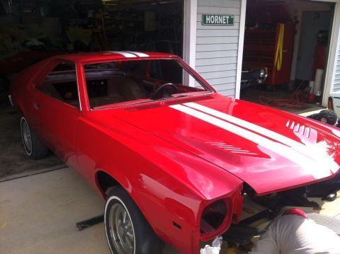 68 AMX - Little Red - The AMC Forum - Page 1 Amc Amx Wiring Harness on