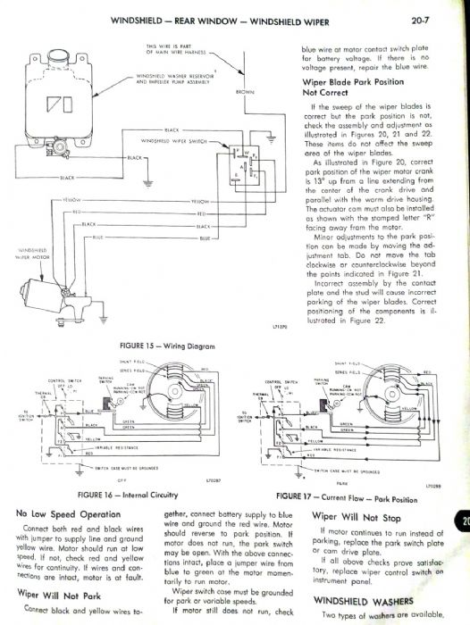 Incredibly annoying wiper motor problem - The AMC Forum - Page 1 on fuel pump wiring, 4 wire motor wiring, oxygen sensor wiring, 3 wire motor wiring, electrical motor wiring, distributor wiring, radiator fan wiring, mercury outboard wiring, fan motor wiring, windshield motor wiring, transmission control module wiring, steering column wiring, voltage regulator wiring, starter motor wiring,