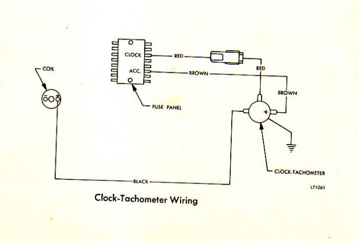 71 amx tach wiring tach not working  the amc forum