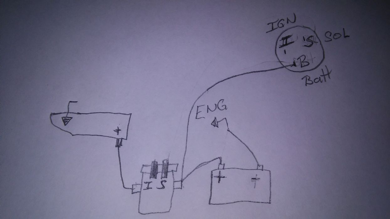 wiring a starter for a engine run stand - The AMC Forum ...