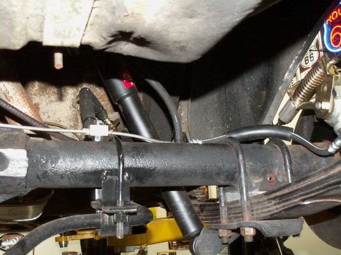 Rear disc brake install for AMC 20 - The AMC Forum - Page 1