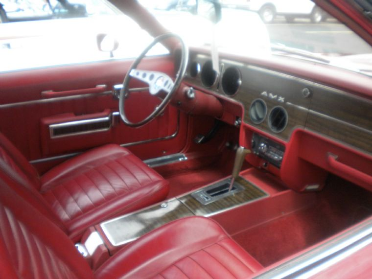 Here Is A Picture, Albeit Poor, Of His Interior.