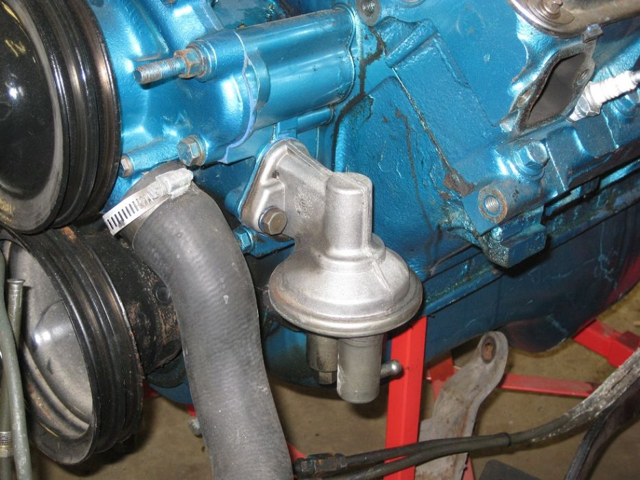 AMC 360 fuel pump/new timing cover issues - The AMC Forum