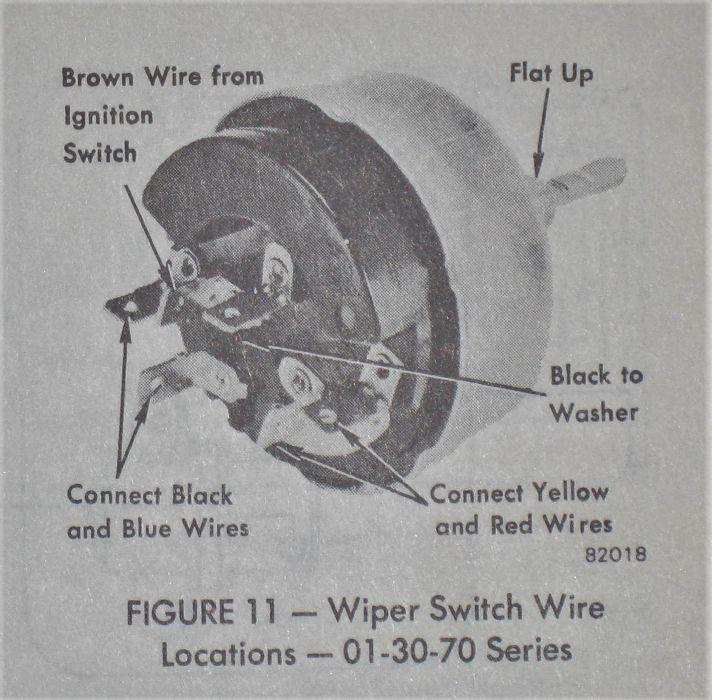 Amx Wiper Switch Wiring